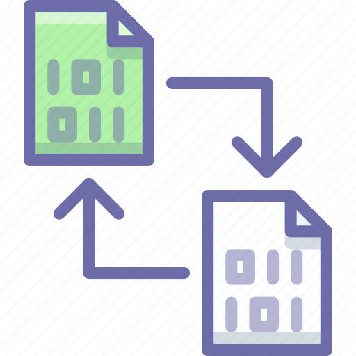 document, sync, update icon