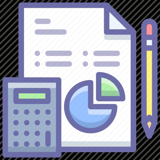 analytics, business, work icon