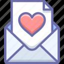 letter, love, valentine