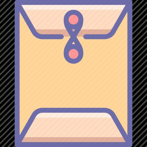 documents, envelope, sealed icon