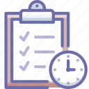 deadline, tasks, todo icon