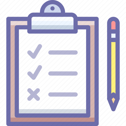 checklist, tasks, todo icon