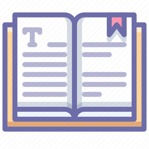 book, education, text icon
