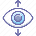eye, focus, view icon