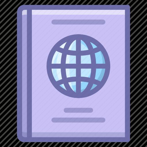 citizen, document, passport icon