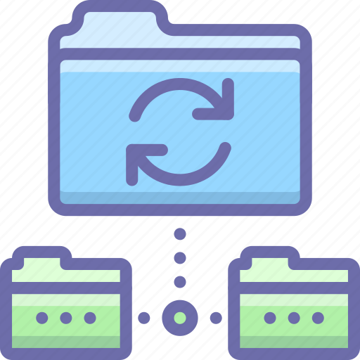 backup, data, sync icon