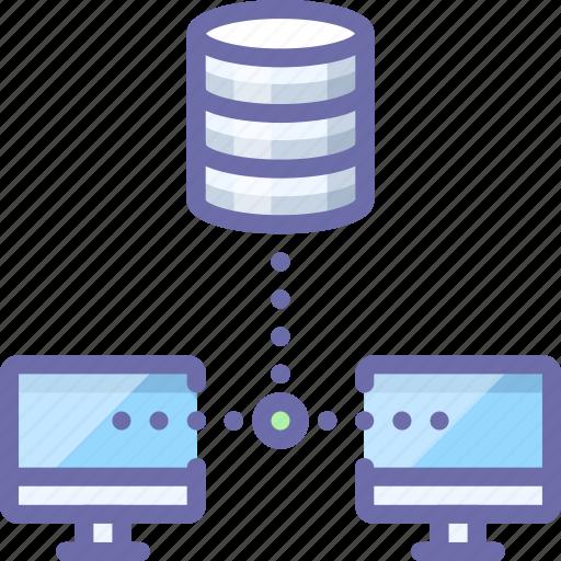 backup, database, sync icon