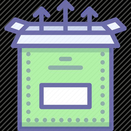 box, install, setup icon