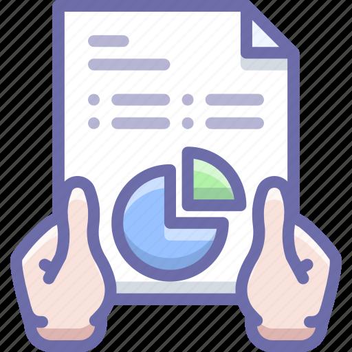 Analytics, hands, report icon - Download on Iconfinder
