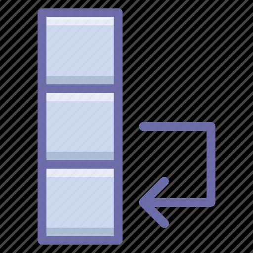 Column, data, swap icon - Download on Iconfinder