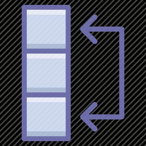 data, swap, table icon