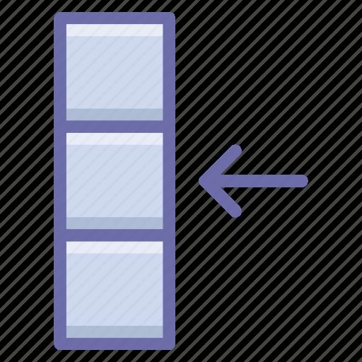 column, data, import icon