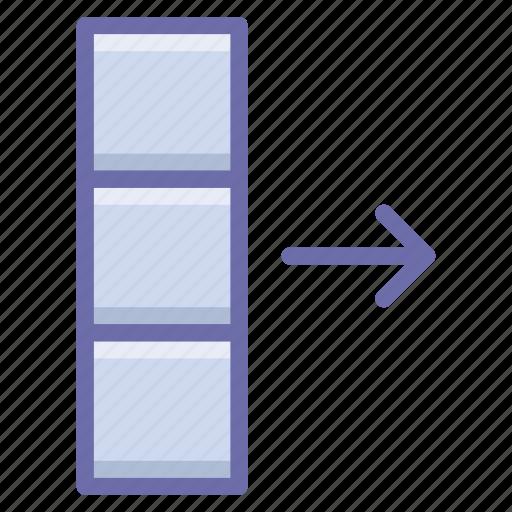 Column, data, export icon - Download on Iconfinder