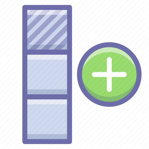 cell, new, table icon