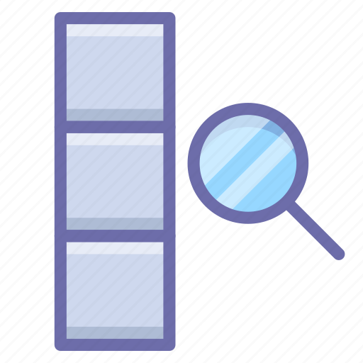 Column, data, search icon - Download on Iconfinder