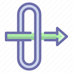 gate, gateway, traffic, way icon