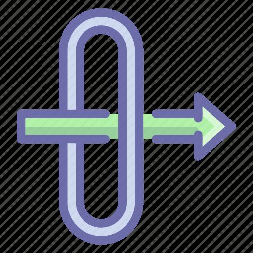 gateway, traffic icon