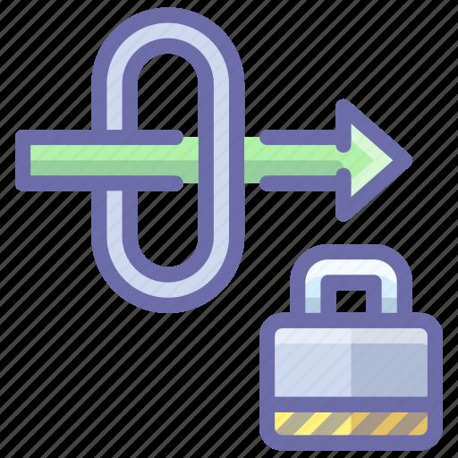 gateway, lock, security icon