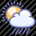 rain, sun, weather