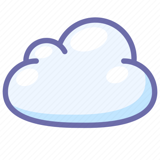 cloud, clouded, overcast icon