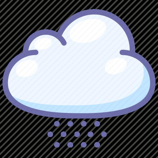hail, snow, weather icon
