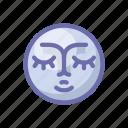 face, moon