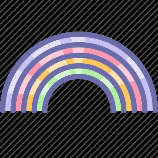 Childhood, rainbow icon - Download on Iconfinder