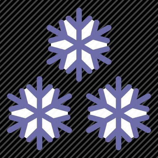 frost, snow, snowflakes icon