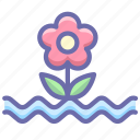 flood, flower, weather