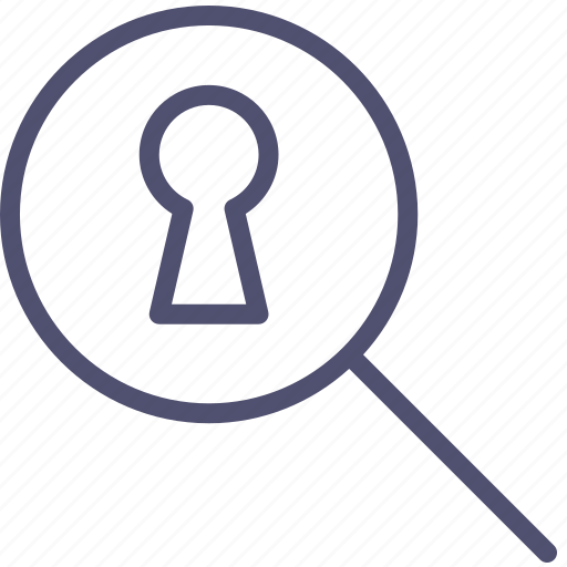 keyhole, porno, search, secret, spy icon