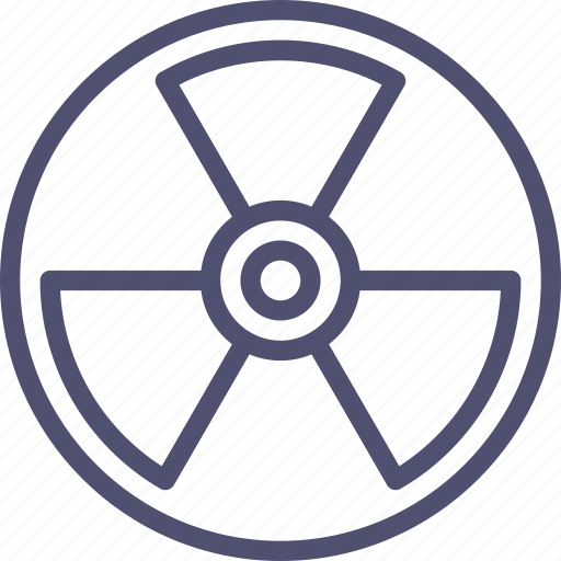 atomic, danger, mass weapon, nuclear, radiation, radioactivity, weapon icon