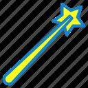 magic, magic wan tool, tool, wand icon
