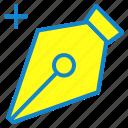 add, pen, pen tool, tool icon