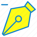 clear, pen, pen tool, tool icon