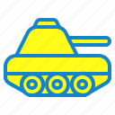 military, tank, transportation, vehicle icon