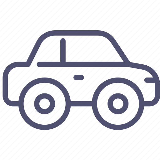 automobile, car, compact, passenger, vehicle icon