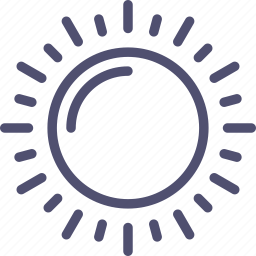 day, daylight, sun, sunny, weather icon