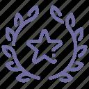 award, badge, favorite, star icon