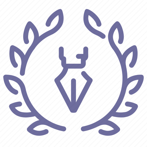 award, pen icon