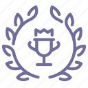 award, badge, cup, prize icon