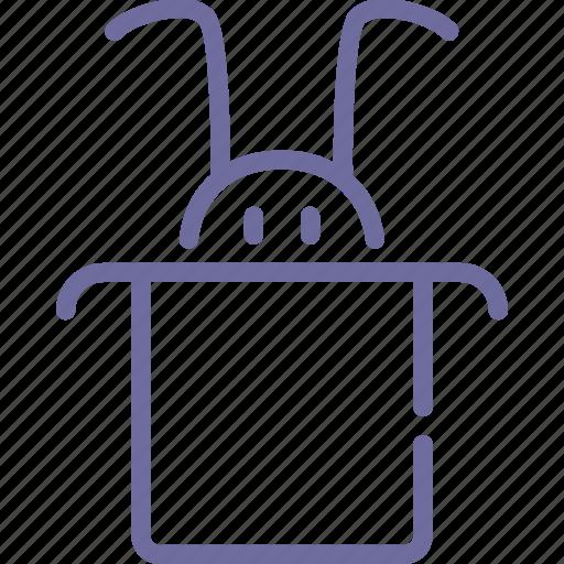 hat, rabbit, wizard icon