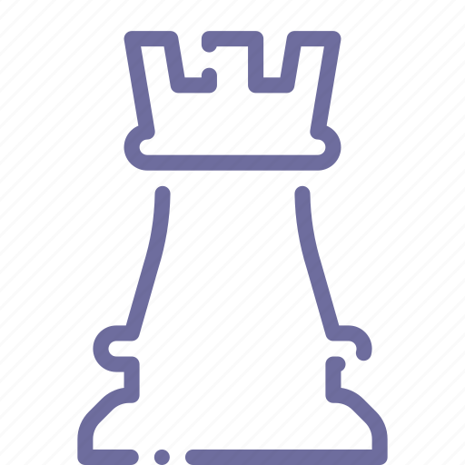 chess, rook icon