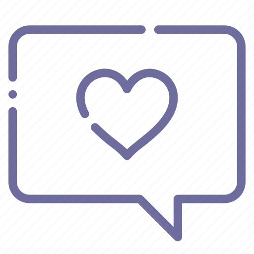 love, message icon