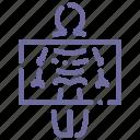 fluorography, medicine, roentgen, x-ray icon