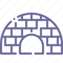 house, icehouse, igloo icon