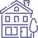 apartment, building, home, house