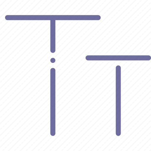 caps, fotmat, size, text icon