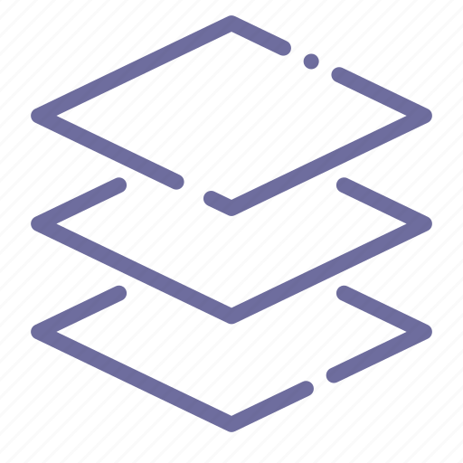 arrange, design, layers, stack icon
