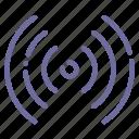antenna, signal, waves, wifi icon