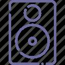 audio, monitor, music, speaker icon